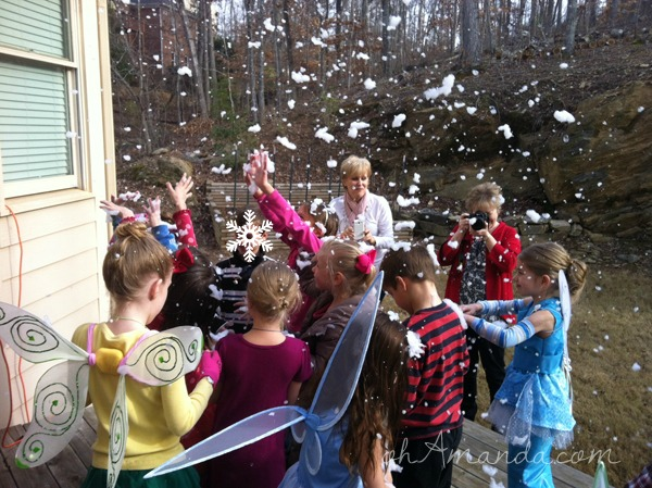 Secret of the Wings Tinkerbell Periwinkle Party snowfall