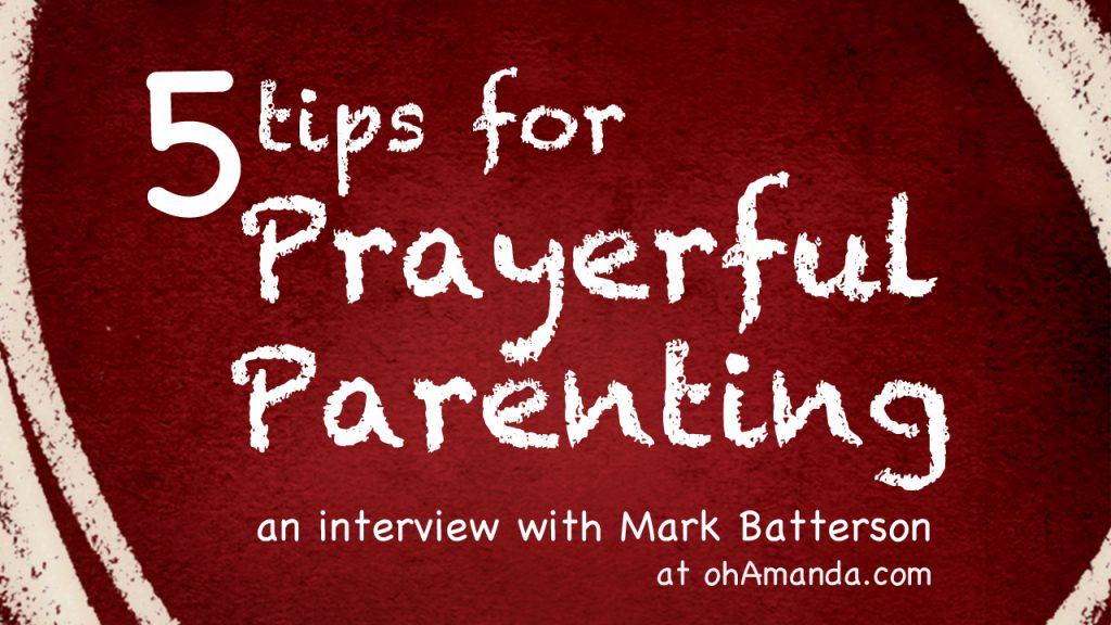 The Circle Maker by Mark Batterson {an interview}