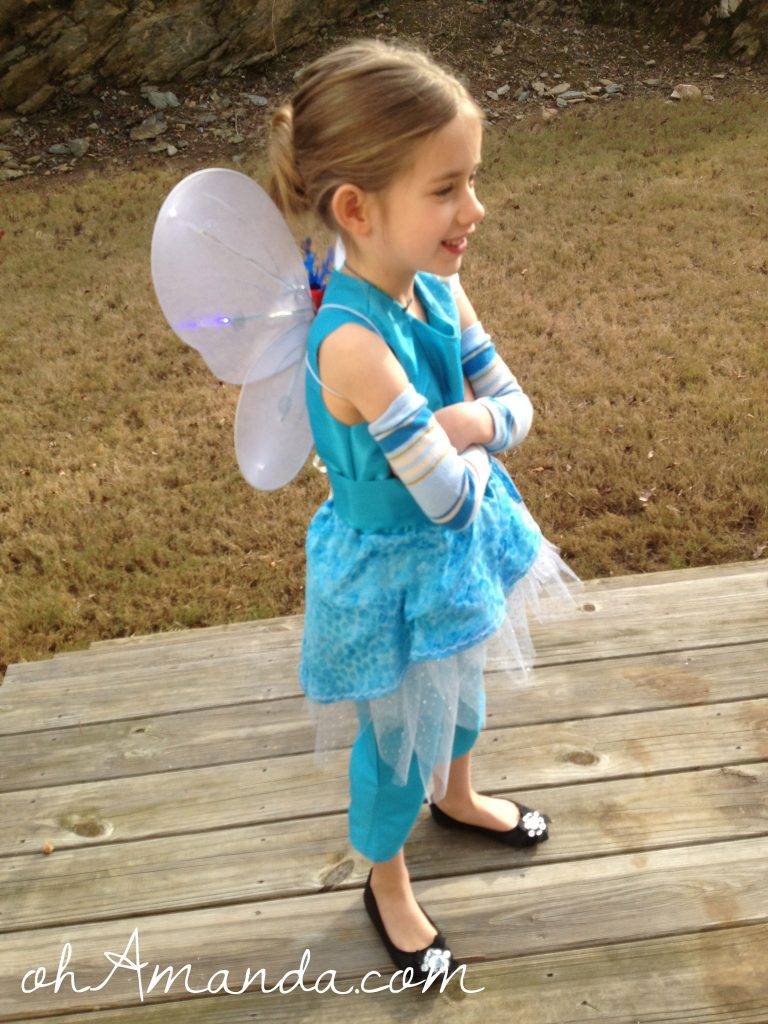 disney periwinkle fairy costume