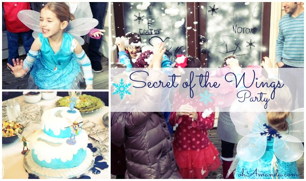 Disney Fairies Tinkerbell & Periwinkle Secret of the Wings Party