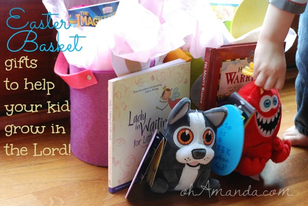 easter basket gifts to help your kid grow in the Lord