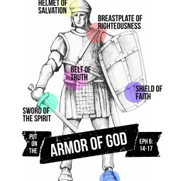 free printable Armor of God art from AMEN designs & ohAmanda.com