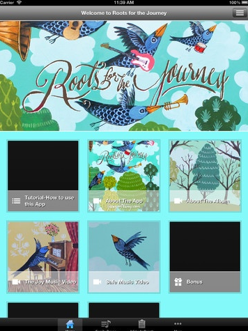 roots for the journey app