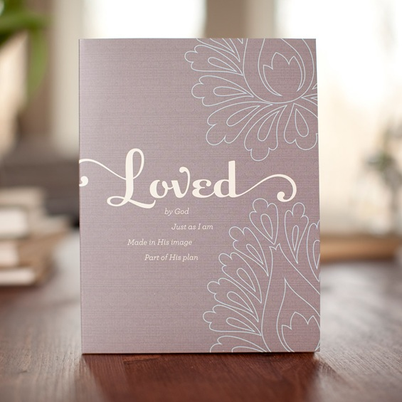 Holley Gerth - Loved - Sticky Note Set
