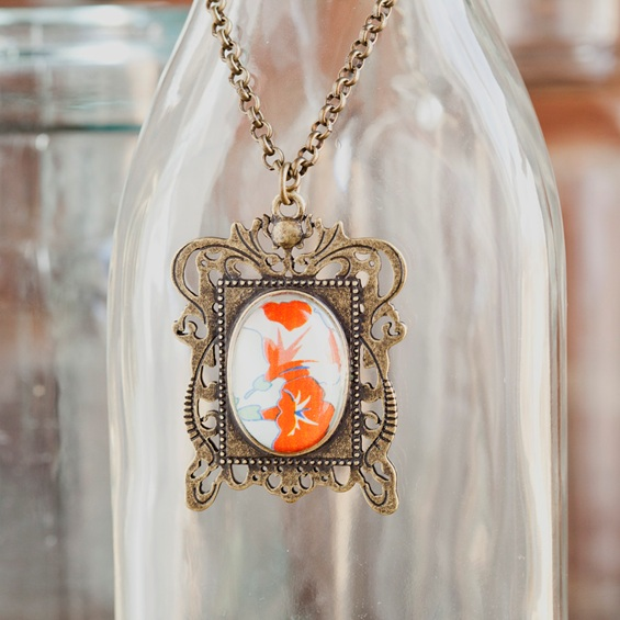 Redeemed - Beautiful in Its Time - Framed Necklace