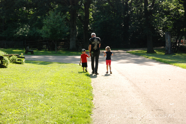 a trip to New Salem, IL with Abraham Lincoln