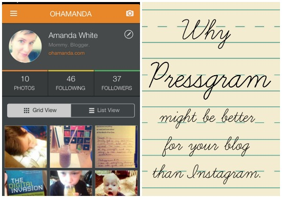 why pressgram might be better for your blog than instagram