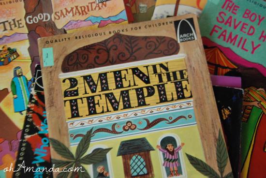 2 men in the temple arch books