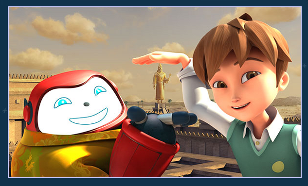 the new Superbook TV show