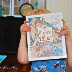 The Rhyme Bible // part of Best Bible Books for kids, a #31days series at ohAmanda.com