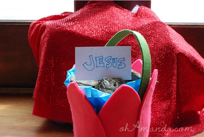 Christ-centered Easter Basket Giveaway at ohAmanda.com