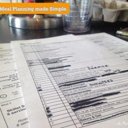 emeals menu