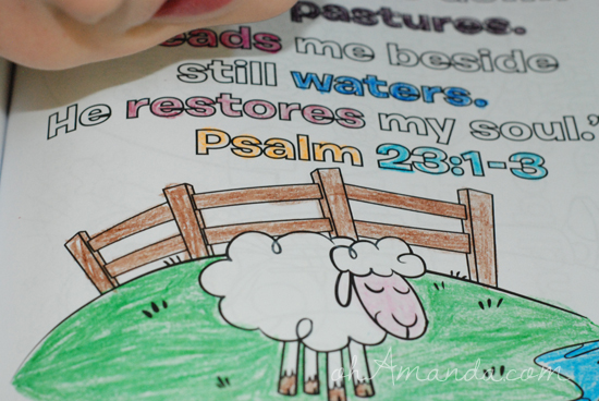 whats in the bible coloring book 2