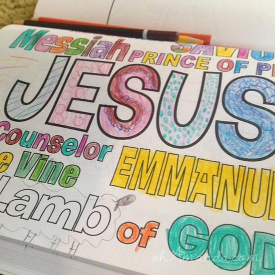 whats in the bible coloring book 4