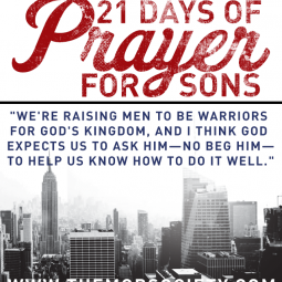 21 days prayers sons