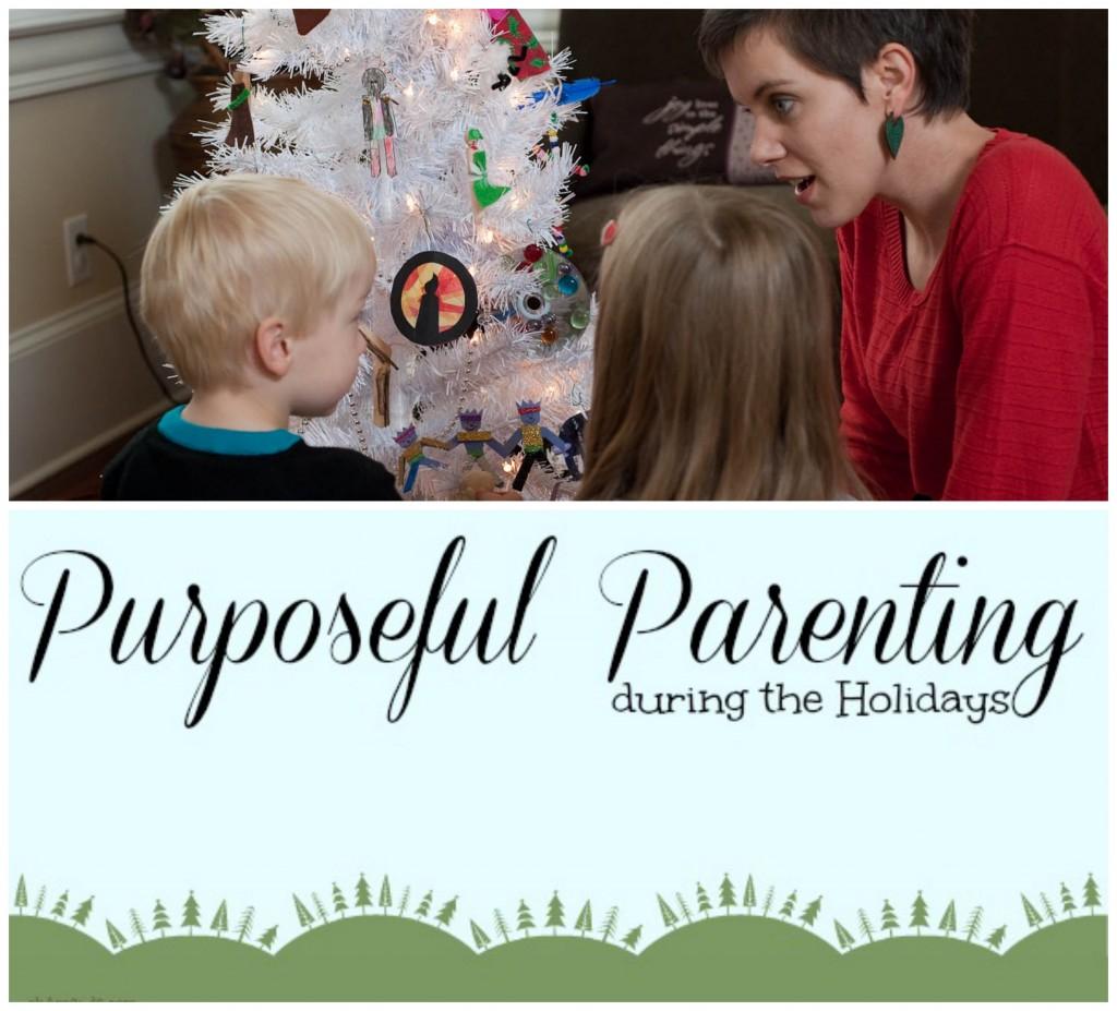 parenting holidays pin