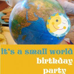 It's a Small World Party // ohAmanda.com