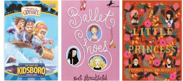 3 books chapter girls