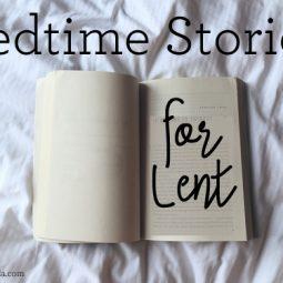 Great bedtime reads for little kids during Lent. // ohAmanda.com