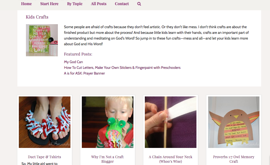 category blog