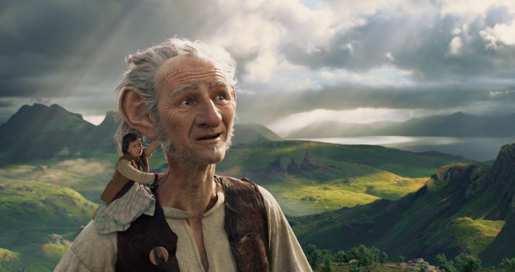 The BFG movie review and family discussion guide // ohAmanda.com