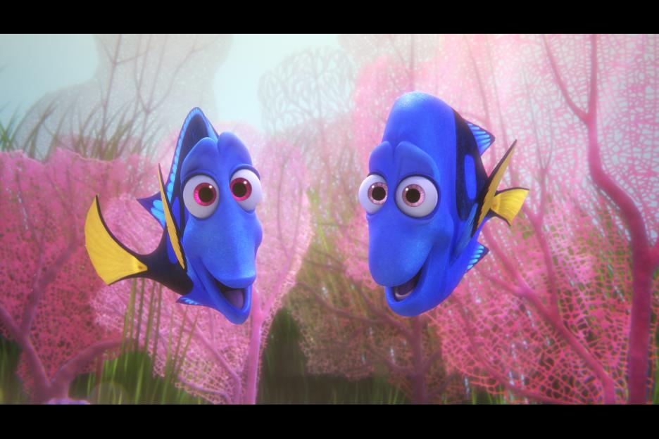 Finding Dory movie review and family discussion guide // ohamanda.com