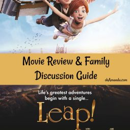 Leap! Movie Review and Discussion Guide // ohamanda.com