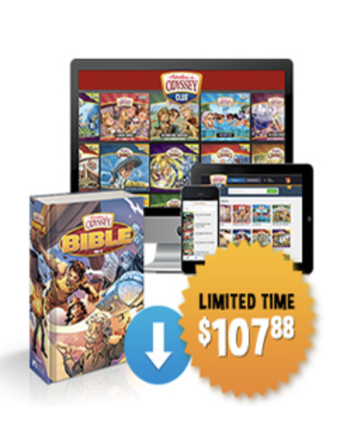 Adventures in Odyssey Club Christmas Offer